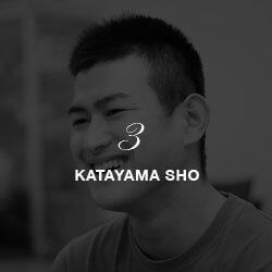 3 KATAYAMA SHO